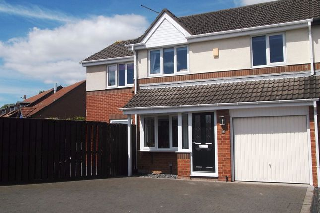 Thumbnail Semi-detached house for sale in Dormand Drive, Peterlee