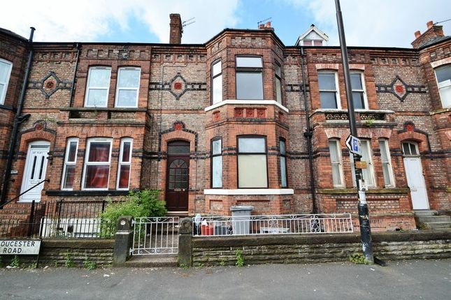 Thumbnail Terraced house to rent in Gloucester Road, Urmston, Manchester