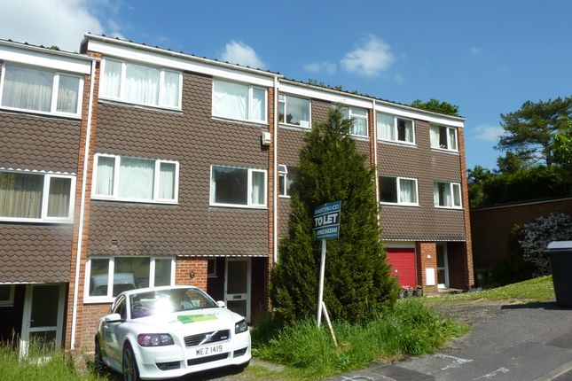Thumbnail Terraced house to rent in Greenhill Close, Winchester, Hampshire