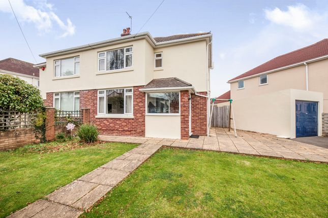 Thumbnail Semi-detached house for sale in Cadewell Park Road, Torquay