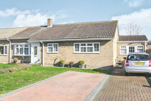 Thumbnail Semi-detached bungalow for sale in Dickasons, Melbourn, Royston