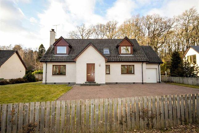 Thumbnail Detached house for sale in Braeriach Road, Kincraig, Kingussie