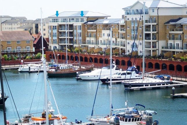 Thumbnail Flat for sale in Hamilton Quay, Sovereign Harbour North, Eastbourne