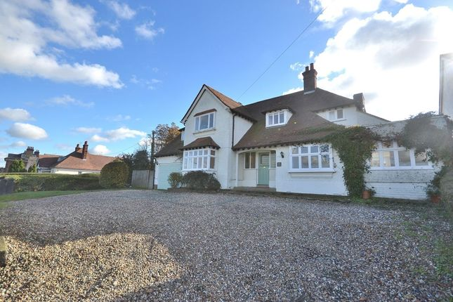 Thumbnail Detached house for sale in Wicken Road, Newport, Saffron Walden