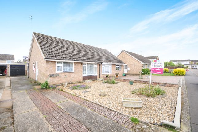 Thumbnail Semi-detached bungalow for sale in Hawthorn Way, Thetford