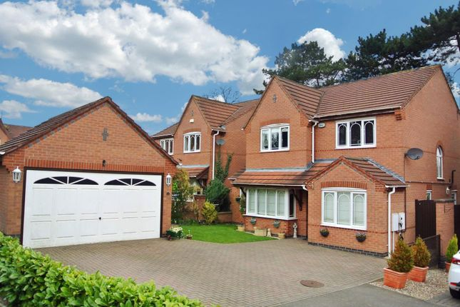 Thumbnail Detached house for sale in Pine View, Leicester Forest East, Leicester