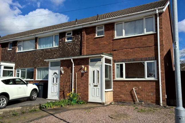 Thumbnail End terrace house to rent in Summerfield Road, Burntwood