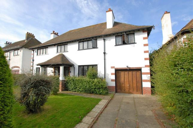 Thumbnail Detached house for sale in Wellfield Road, Folkestone