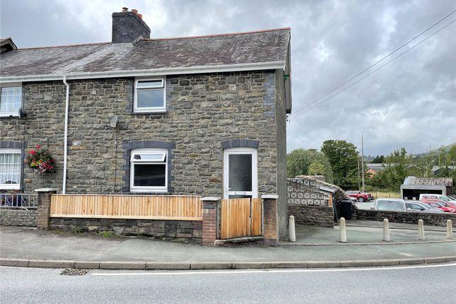 Thumbnail End terrace house for sale in Glynteg, Llanbrynmair, Powys