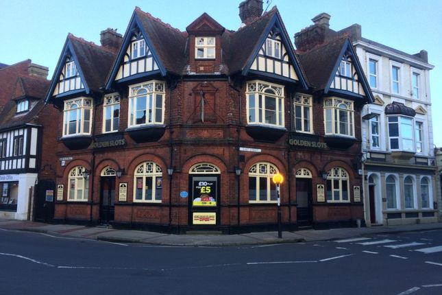 Thumbnail Leisure/hospitality to let in Former White Hart Pub, 1 East Street, Havant