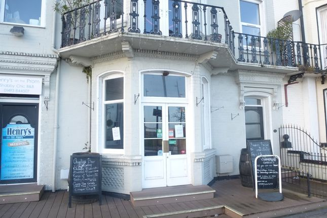 Commercial property for sale in Cerdic Place, Marine Parade, Great Yarmouth