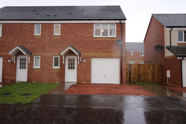 Thumbnail Semi-detached house for sale in Flax Way, Greenock
