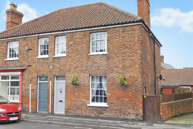 Thumbnail Semi-detached house for sale in High Street, Wainfleet All Saints, Skegness
