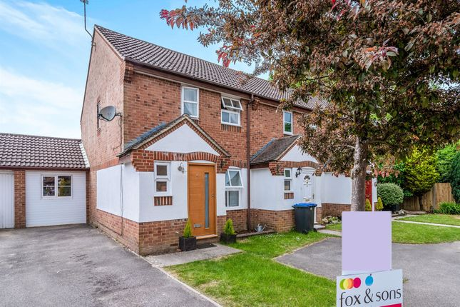 Thumbnail End terrace house for sale in Shotters, Hammonds Ridge, Burgess Hill