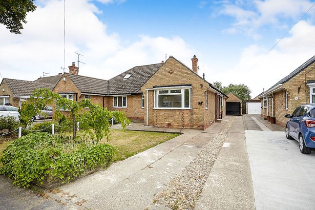 Thumbnail Semi-detached bungalow for sale in Mayland Drive, Cottingham