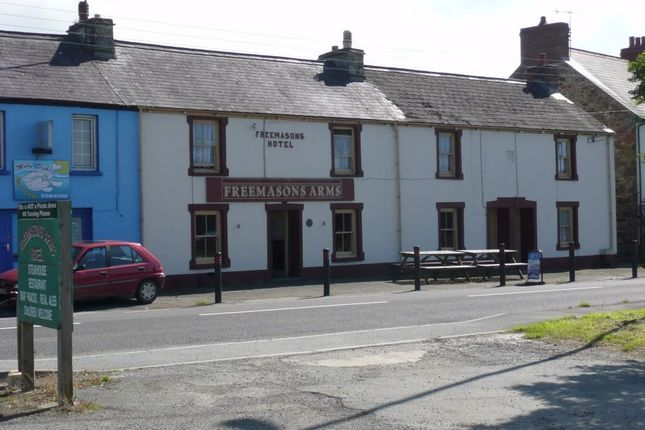 Thumbnail Terraced house for sale in The Freemasons Arms, Dinas Cross, Newport, Pembrokeshire