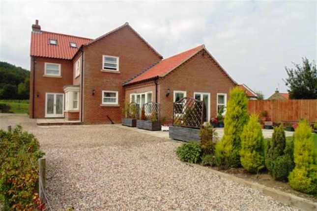 Thumbnail Detached house for sale in House On The Hill, Bank Lane, Faceby, North Yorkshire