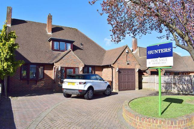 Thumbnail Detached house for sale in Farwell Road, Sidcup, Kent