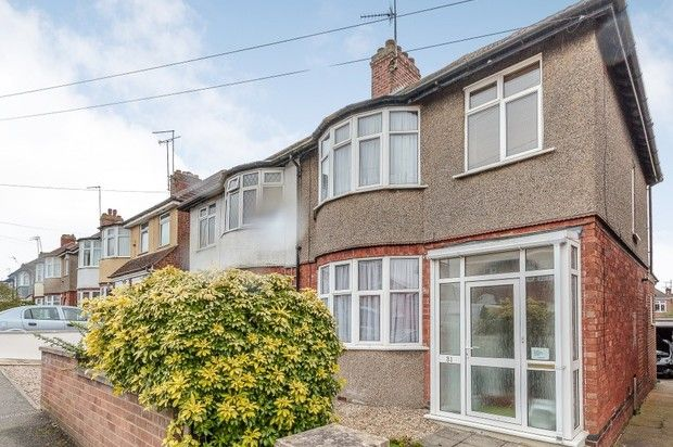 Thumbnail Semi-detached house for sale in Whiteland Road, Northampton