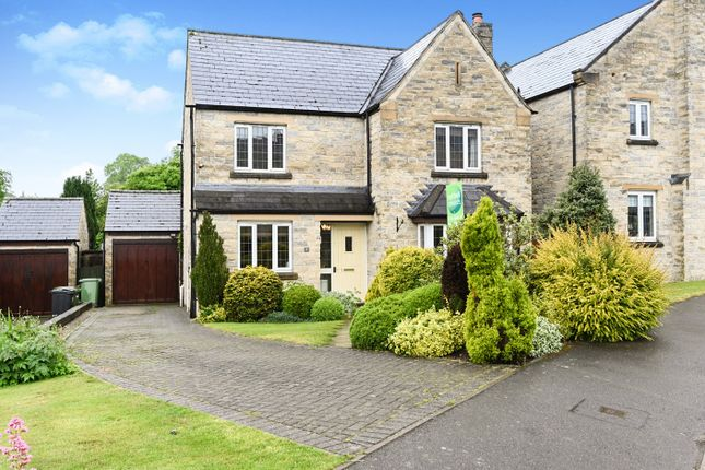 Thumbnail 4 bed detached house for sale in Dowie Way, Crich, Matlock