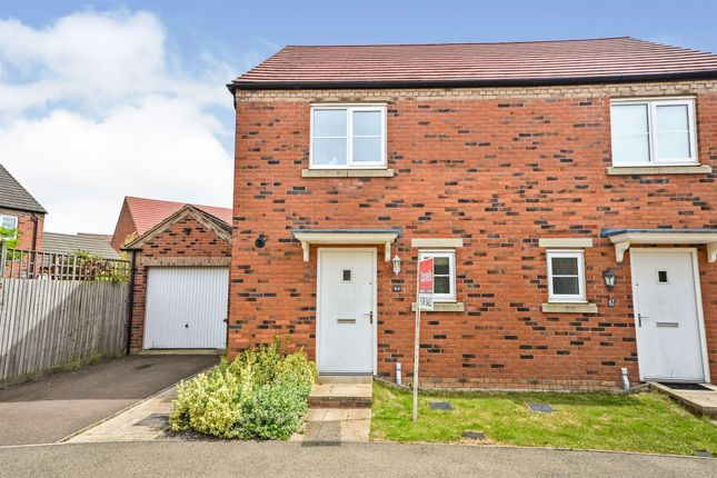 Thumbnail Semi-detached house for sale in Hunts Field Drive, Gretton, Corby