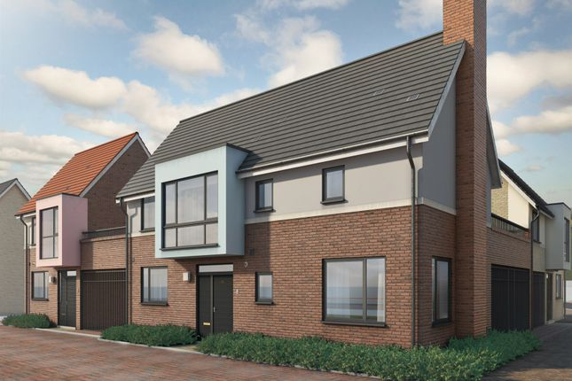 Thumbnail Link-detached house for sale in Mill Road, Mile End, Colchester