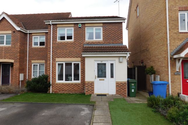 Thumbnail Semi-detached house to rent in Scholars Way, Mansfield