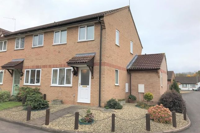 Thumbnail End terrace house to rent in Bilberry Grove, Taunton, Somerset