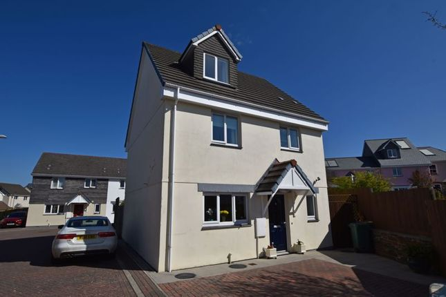 4 bed detached house for sale in Mowhay Meadow, Fraddon, St. Columb TR9