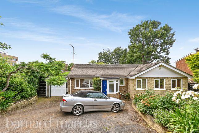 Thumbnail Detached bungalow for sale in Avenue Elmers, Surbiton