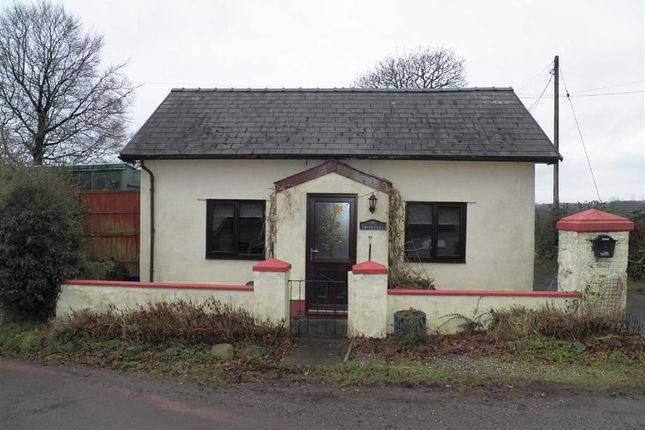 Thumbnail Detached bungalow for sale in Llangain, Carmarthen