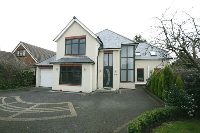 Thumbnail Detached house to rent in Chapel Lane, Hale Barns, Altrincham
