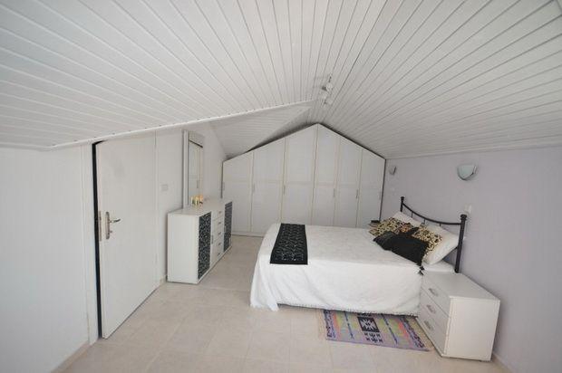 Master Bedroom of Central Hisaronu (Oludeniz), Fethiye, Muğla, Aydın, Aegean, Turkey