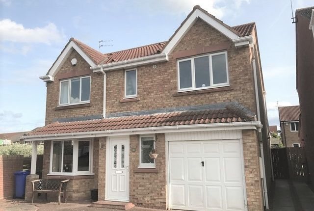 Thumbnail Detached house to rent in Dewberry Close, Blyth