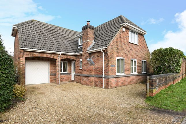 Thumbnail Detached house for sale in Church Lane, Colden Common, Winchester