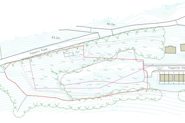 Location of Potential Development Site For 9 Dwellings, Looe, Cornwall PL13