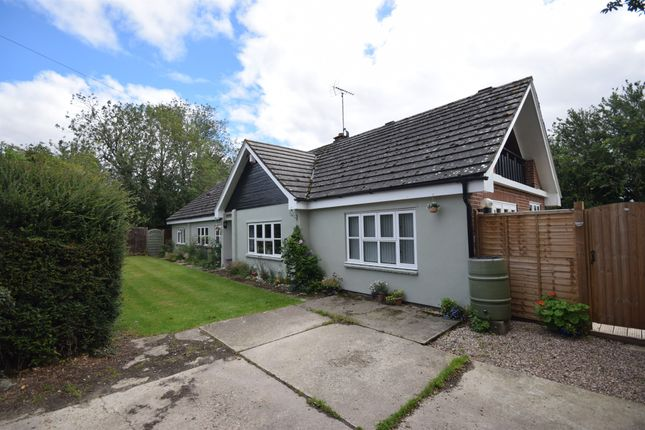 Thumbnail Detached bungalow for sale in Tilbury Green, Ridgewell, Halstead