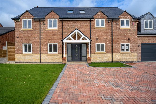 Thumbnail Detached house for sale in Hardwick Drive, Melton Road, Shangton, Leicester