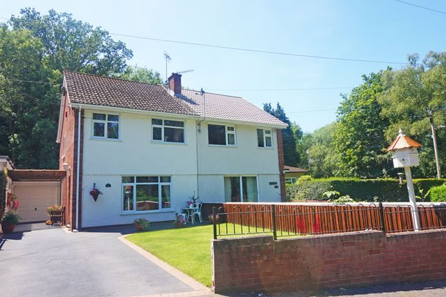 Thumbnail Semi-detached house for sale in Brookland Close, Maesycwmmer, Hengoed