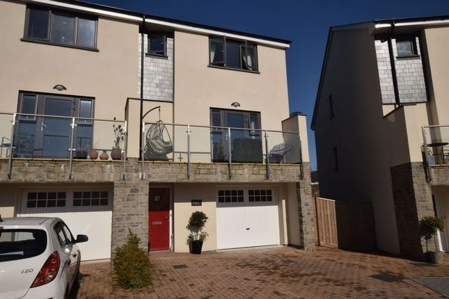 Thumbnail End terrace house for sale in Sharkham Drive, Brixham
