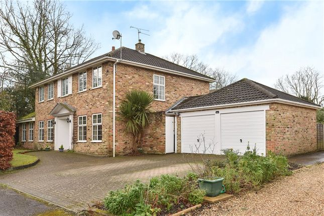 Thumbnail Detached house for sale in Broome Close, Yateley, Hampshire
