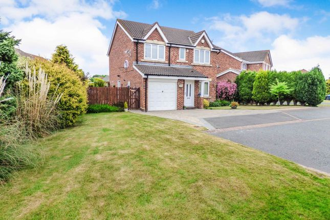 Thumbnail Detached house for sale in Ashwood Close, Cramlington