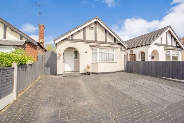 Thumbnail Detached bungalow for sale in Douglas Drive, Moreton, Wirral