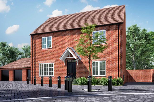 """Thumbnail Detached house for sale in """"The Leverton"""" at Pioneer Way, Bicester"""