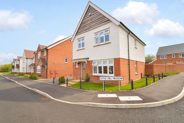 Thumbnail Detached house for sale in Little Mill Meadow, Leegomery, Telford