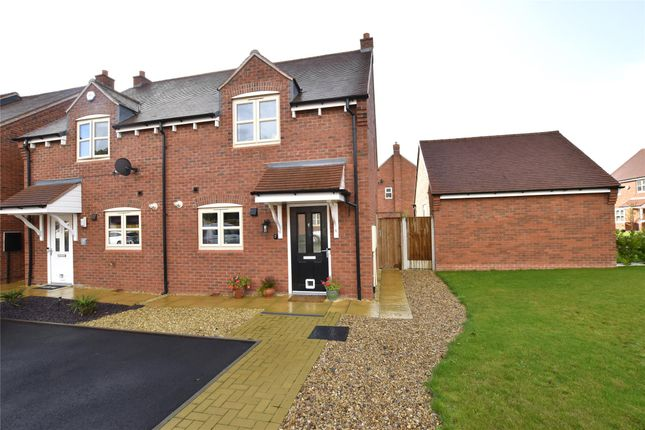 Thumbnail 2 bed semi-detached house for sale in Balladine Crescent, Stoke Orchard, Cheltenham