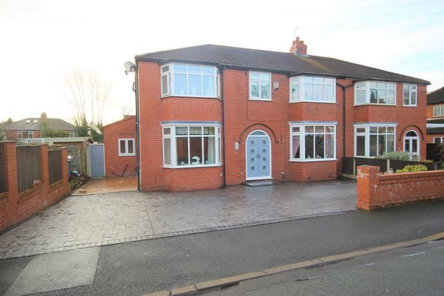 Semi-detached house for sale in Duchy Avenue, Worsley, Manchester