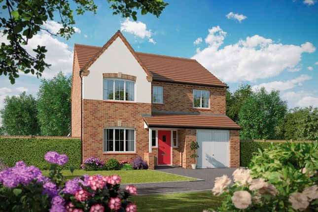 Thumbnail Detached house for sale in Tidbury Heights, Fulford Hall Road, Tidbury Green, Solihull