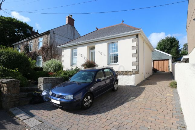 Thumbnail Detached bungalow for sale in Church Road, Pool, Redruth