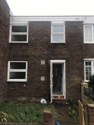 Thumbnail Terraced house to rent in Honeysuckle Close, Harold Hill